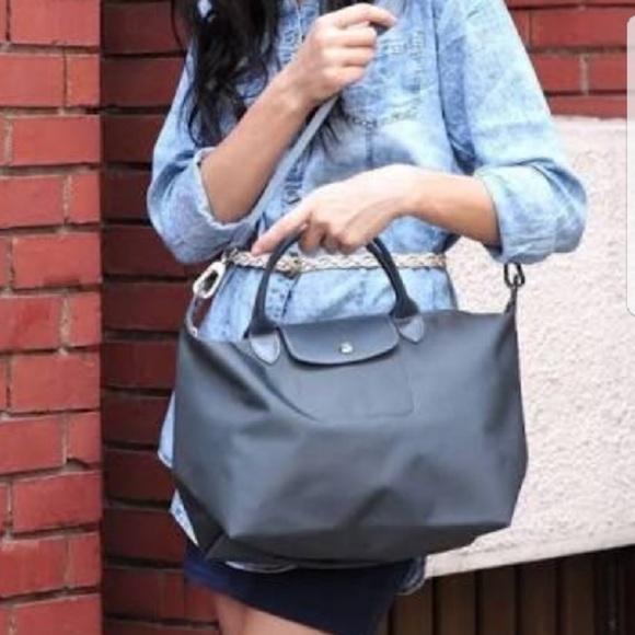 c88e90a450 Longchamp Bags | Salenew Le Pliage With Shoulder Strap | Poshmark